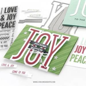 Bilde av Concord & 9th Full of Joy Stamp Set