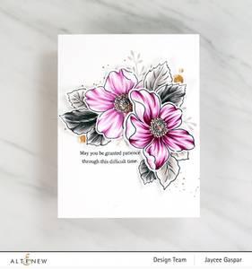 Bilde av Altenew Beauty Within Stamp & Die & Coloring