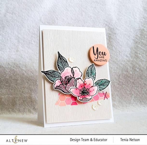 Altenew Adore You Add-On Stamp & Die Bundle