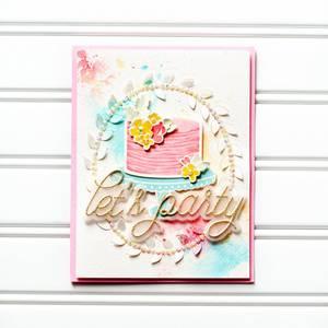 Bilde av Pinkfresh Studio Let's party die set