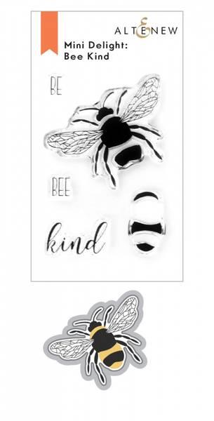 Altenew Mini Delight: Bee Kind Stamp & Die Set