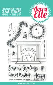 Bilde av Avery Elle Fireside Clear Stamps