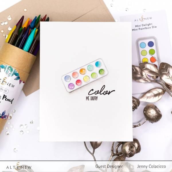 Altenew Mini Delight: Mini Paintbox Stamp & Die Set