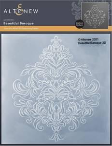 Bilde av Altenew Beautiful Baroque 3D Embossing Folder
