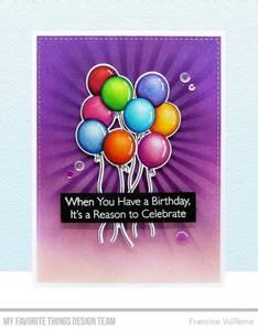 Bilde av MFT Balloon Bundle stamp set