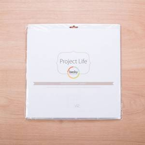 Bilde av Project Life 12x12 Photo Pocket Pages Design F