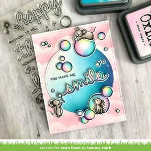 Bilde av Lawn Fawn Bubbles of Joy Stamp Set