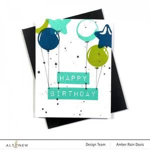 Bilde av Altenew Balloon Bunch Stamp Set