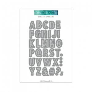 Bilde av Concord & 9th Double-Cut Alphabet Dies