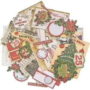 Bilde av Tim Holtz Idea-ology Christmas Noel Ephemera Pack