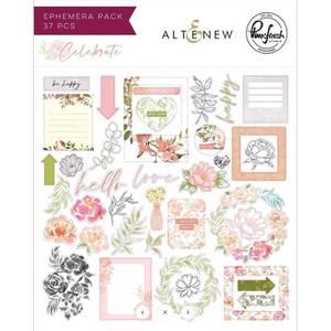 Bilde av Altenew/ Pinkfresh Studio Celebrate Ephemera Pack