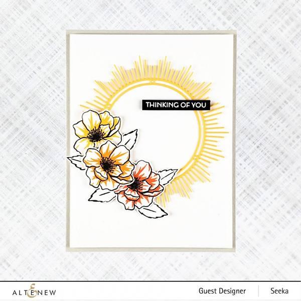 Altenew Mini Delight: Winsome Bloom Stamp & Die Set