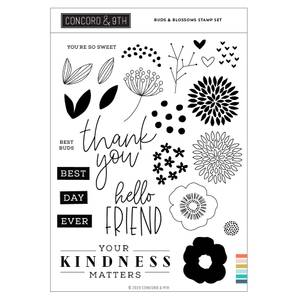 Bilde av Concord & 9th Buds & Blossoms Stamp Set