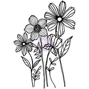 Bilde av Prima Joyful Garden Stamp Set