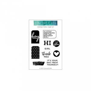 Bilde av Concord & 9th Everyday Purse Stamp Set