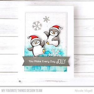 Bilde av MFT Holiday Penguins stamp set