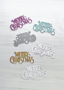 Bilde av The Ton Merry Christmas Sentiment Die
