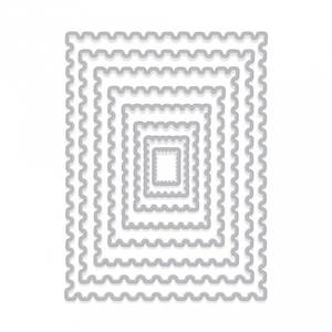 Bilde av Hero Arts Nesting Postage Stamps Infinity Dies