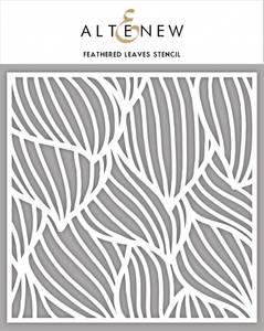 Bilde av Altenew Feathered Leaves Stencil