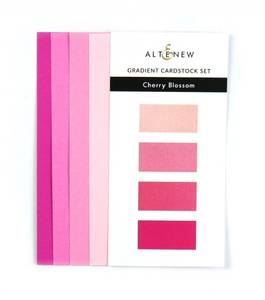 Bilde av Altenew Gradient Cardstock Set - Cherry Blossom