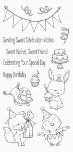 Bilde av MFT Sending Sweet Celebration Wishes stamp set