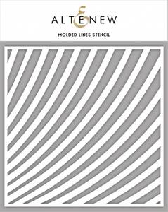 Bilde av Altenew Molded Lines Stencil