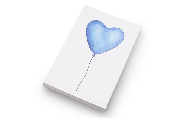 Bilde av 50 stk | Blå ballong | 10x15 cm