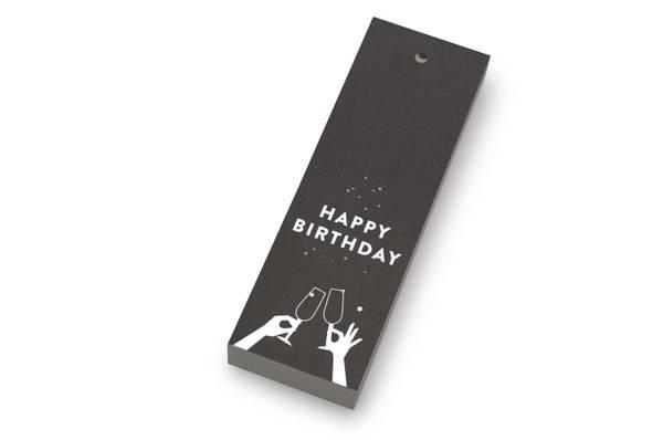 Bilde av 50 stk | Happy birthday | 5x15 cm