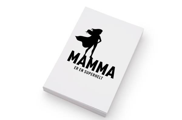 Bilde av 50 stk | Mamma er en superhelt | 10x15 cm
