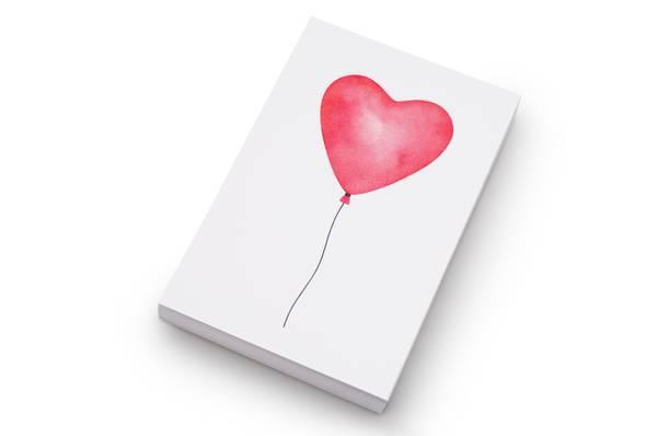 Bilde av 50 stk | Hjerteballong | 10x15 cm