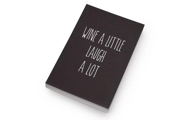 Bilde av 50 stk | Wine a little, laugh a lot | 10x15 cm