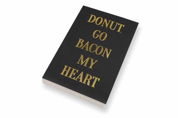 Bilde av 50 stk | Donut go bacon my heart | 10x15 cm |