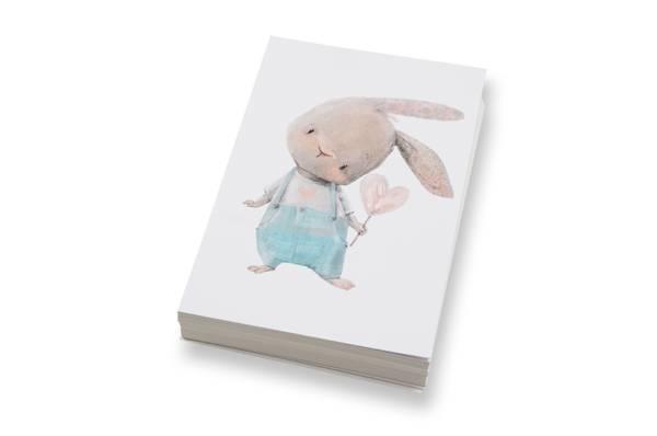 Bilde av 50 stk | Kanin med hjerte | 10x15 cm