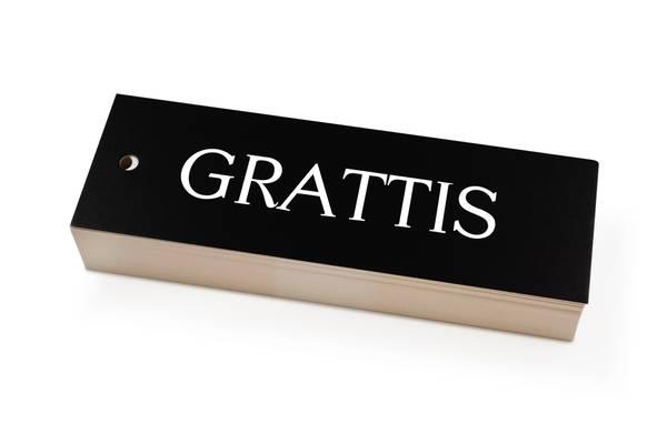 Bilde av 50 stk   Grattis   5x15 cm