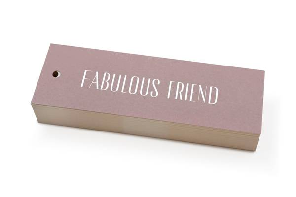 Bilde av 50 stk | Fabulous Friend | 5x15 cm