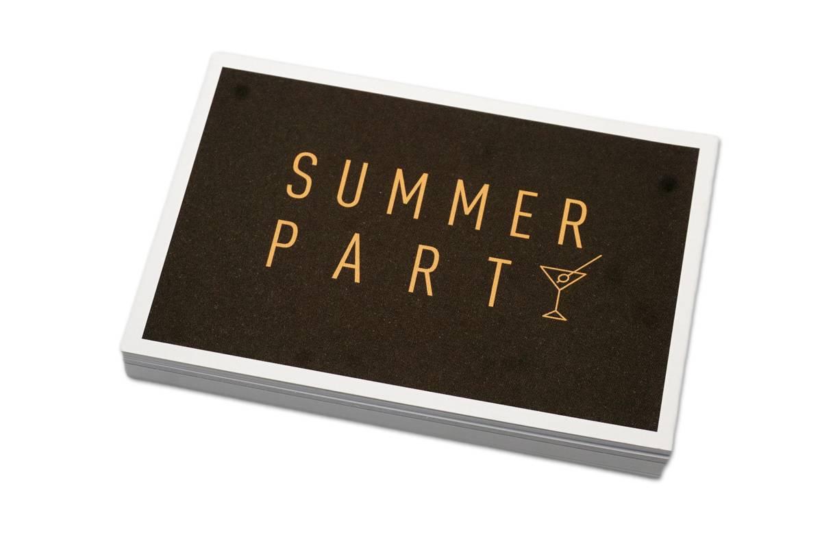 50 stk | Summerparty | 10x15 cm