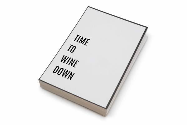 Bilde av 50 stk | Time to wine down | 10x15 cm