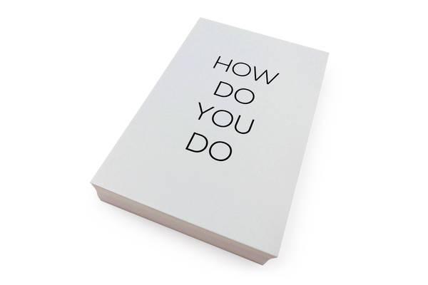 Bilde av 50 stk | How do yo do | 10x15 cm