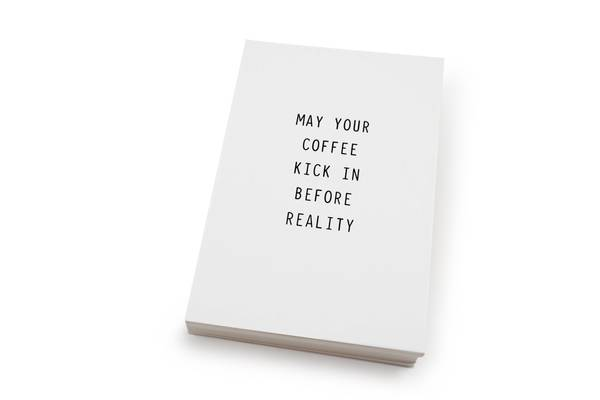 Bilde av 50 stk | May your coffee… | 10x15 cm