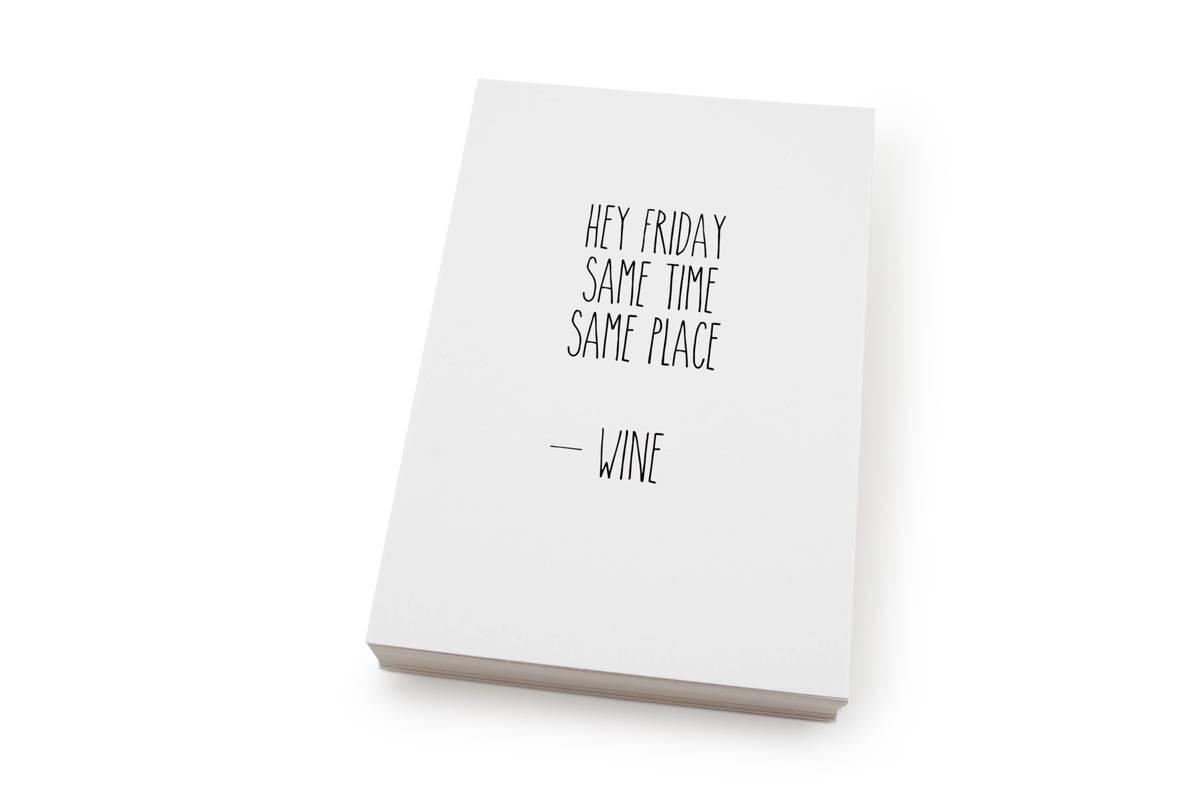 50 stk | Hey Friday... | 10x15 cm