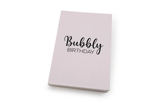 Bilde av 50 stk   Bubbly birthday   10x15 cm