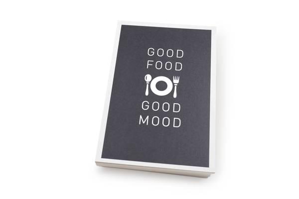 Bilde av 50 stk | Good food good mood | 10x15 cm