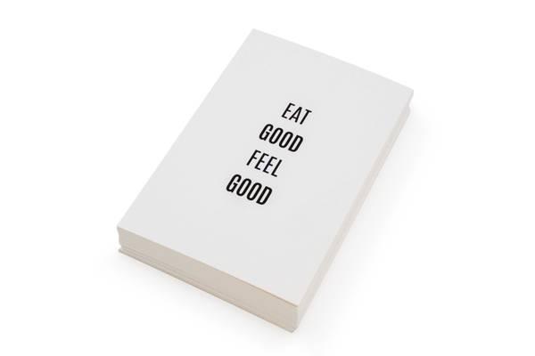 Bilde av 50 stk   Eat good feel good   10x15 cm