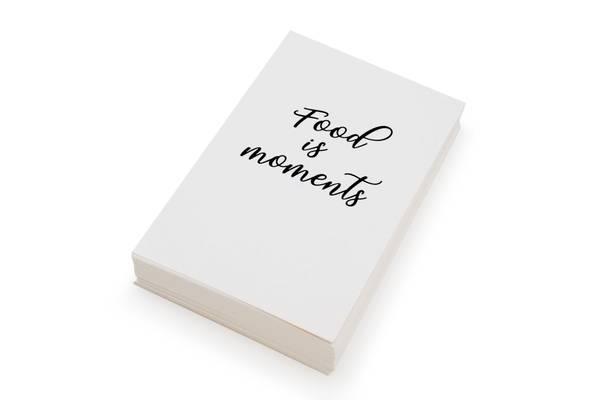 Bilde av 50 stk | Food is moments | 10x15 cm