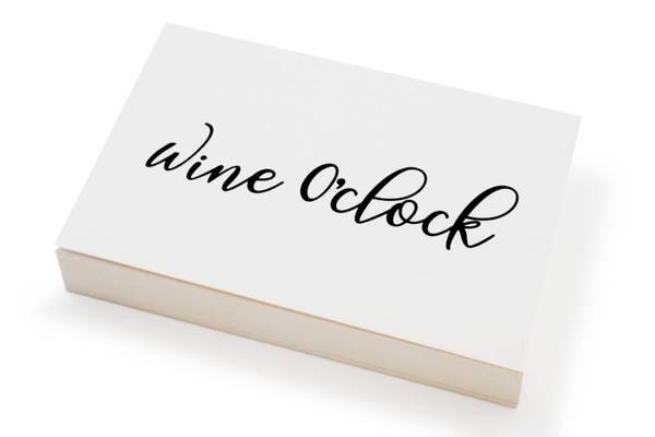 Bilde av 50 stk   Wine o'clock   10x15 cm
