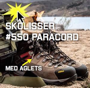 Bilde av Skolisser 550 Paracord med aglets