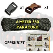 Paracord Armbånd Sett