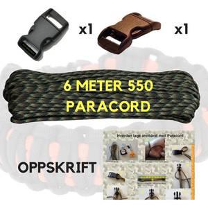 Bilde av Paracord Armbånd Sett