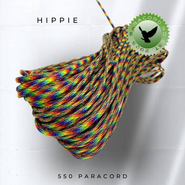 550 Paracord - Flerfarget