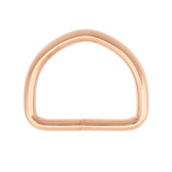 D ring - Rose Gold